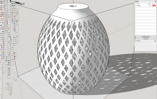lampshade-diamond-SketchUp