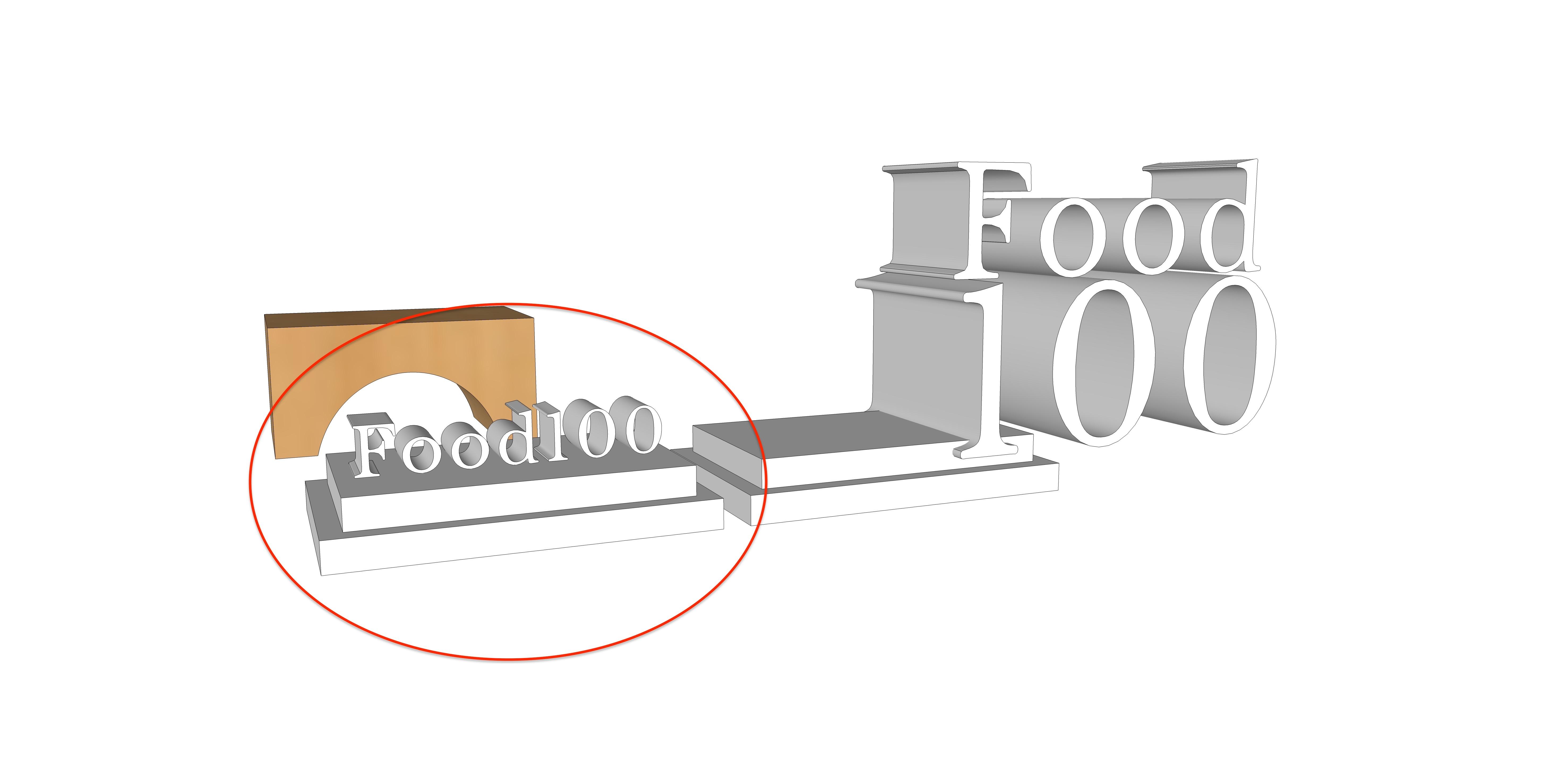 FOOD100 ontwerpproces
